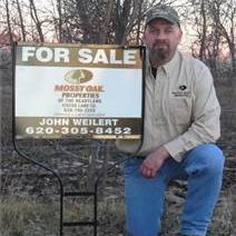 John Weilert @ Mossy Oak Properties of the Heartland Fiscus Land Company - Sedan