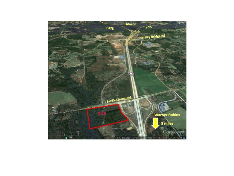 30 Ac At New I-75 Interchange : Macon : Bibb County : Georgia