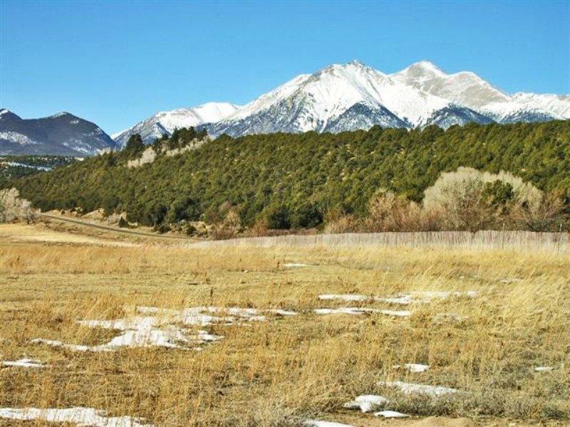 87.54 Acres Horse Farm Land : Poncha Springs : Chaffee County : Colorado