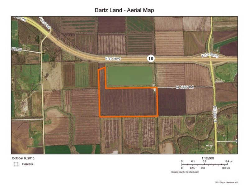 Kansas Cropland Auction : Lawrence : Douglas County : Kansas