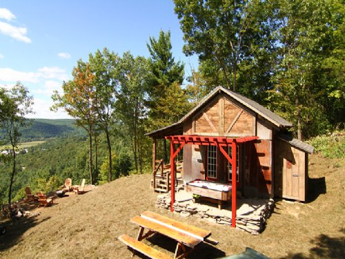 Cabin Mountain Paradise 124 Acres : Petersburg : Rensselaer County : New York