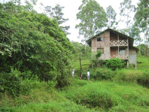 17 Acres & Rustic Cabin : Santa Teresita De Turrialba : Costa Rica
