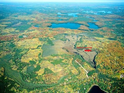 258 Ac On Three Mile Creek : Minocqua : Oneida County : Wisconsin