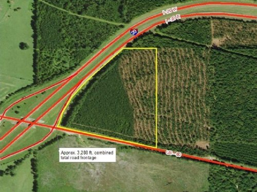 40 Acre Prime Development Land : Lake : Newton County : Mississippi