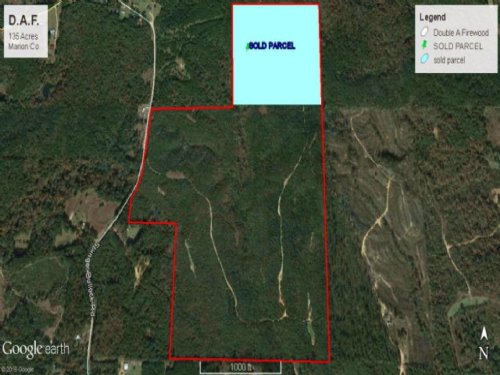 Timber Investment Land Columbia, Ms : Columbia : Marion County : Mississippi