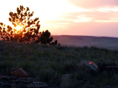 Secluded Land With Power & Views : Lusk : Niobrara County : Wyoming
