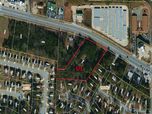 3.7 Acre Commercial Tract : Jonesboro : Clayton County : Georgia