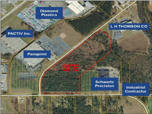 Industrial Development Site-Reduced : Macon : Bibb County : Georgia
