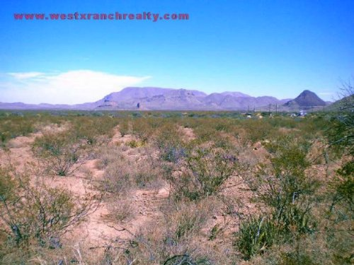 10 Acres With Paved Frontage And Po : Terlingua : Brewster County : Texas