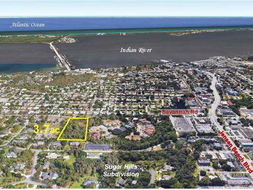 3.7Ac Estate Parcel : Jensen Beach : Martin County : Florida