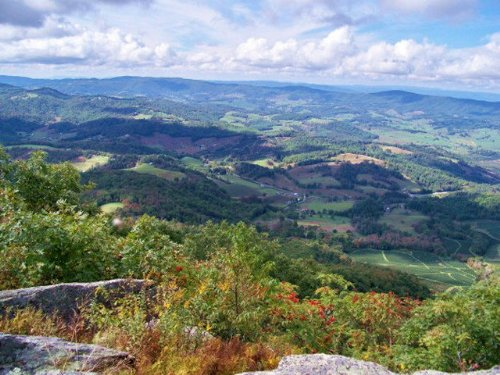 High Elevation Western Views : Independence : Grayson County : Virginia