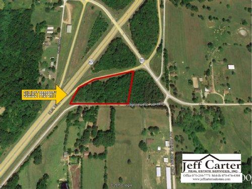 4.8 Acres +/- Commercial Highway 67 : Bradford : White County : Arkansas