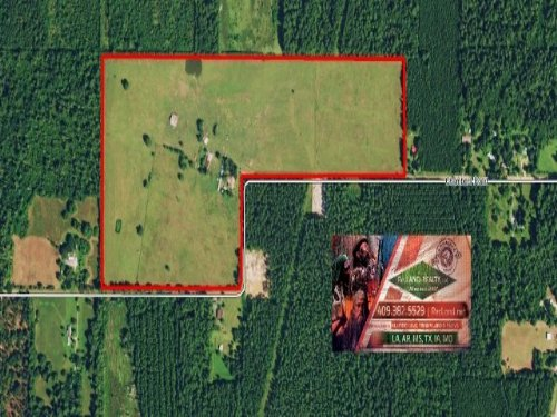 80 Ac - Ranch With Home & Pond : Kirbyville : Jasper County : Texas