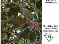 97+/- Industrial & Comm Acreage : Spartanburg : Spartanburg County : South Carolina