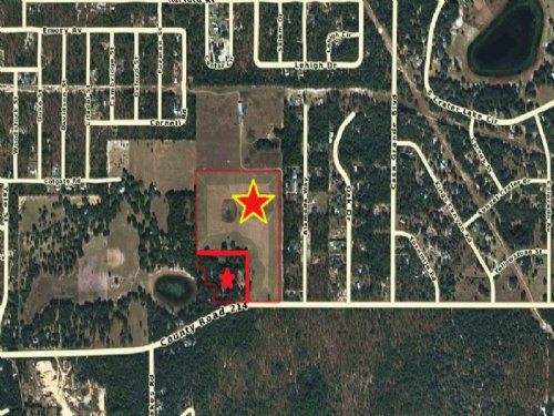 Land 39 Ac Zoned Rb-2 Units Per Ac : Keystone Heights : Clay County : Florida