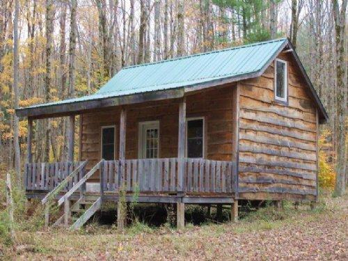 Cabin Near Redfield Reservoir : Redfield : Oswego County : New York