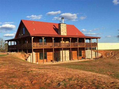 270 Acres With Log Home In Antlers : Antlers : Pushmataha County : Oklahoma