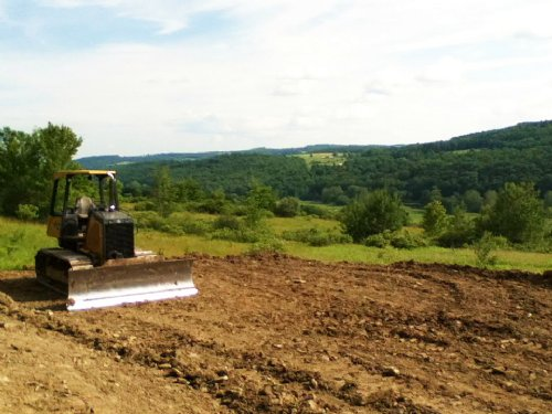 Land Cleared Building Site 11 Acres : Marathon : Cortland County : New York
