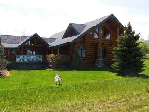 Bear Creek Model Log Home : Gallatin Gateway : Gallatin County : Montana