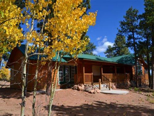 Foxfire Cabin : Florissant : Park County : Colorado
