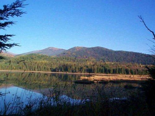 Canoeing Chase Lake : Coolin : Bonner County : Idaho