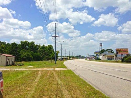 7.4 Acres Hwy 90 : Liberty : Texas