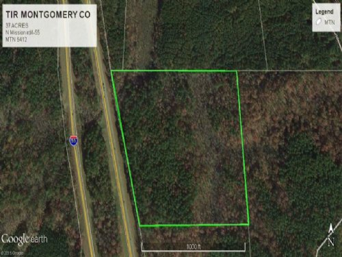 Recreational Hunting Land For Sale : Duck Hill : Montgomery County : Mississippi