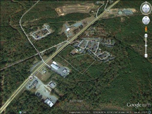 Commercial 4 Lane Highway : Macon : Bibb County : Georgia