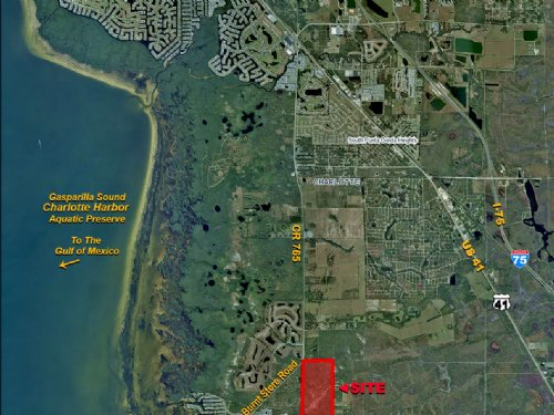 Burnt Store Road Acreage : Punta Gorda : Charlotte County : Florida