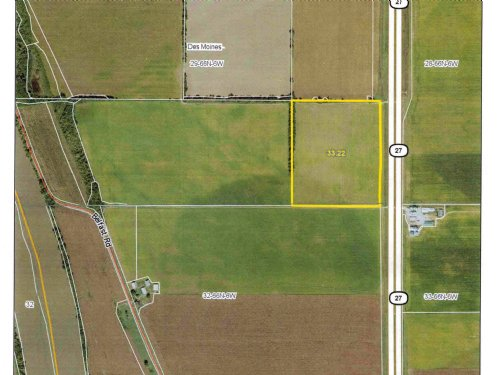 34 Acres M/l 99% Tillable : Argyle : Lee County : Iowa