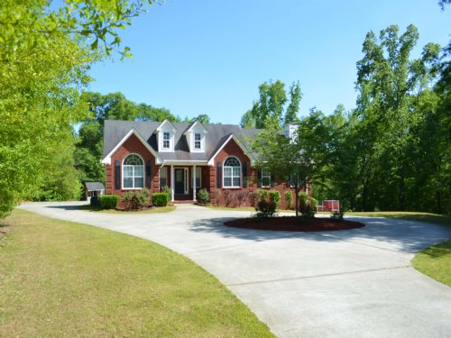 Brick Ranch Full Basement & Acreage : Oxford : Newton County : Georgia