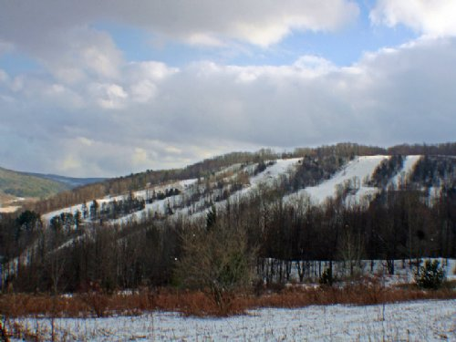 Building Lot Near Swain Ski Resort : Grove : Allegany County : New York