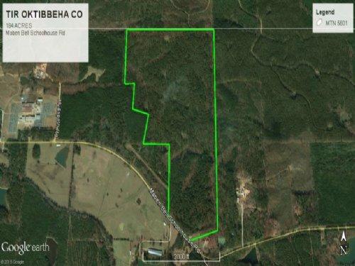 Recreational Hunting Land Maben Ms : Maben : Oktibbeha County : Mississippi