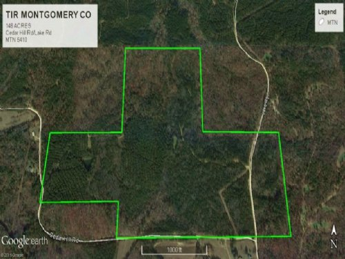 Timberland Hunting Land Montgomery : Duck Hill : Montgomery County : Mississippi