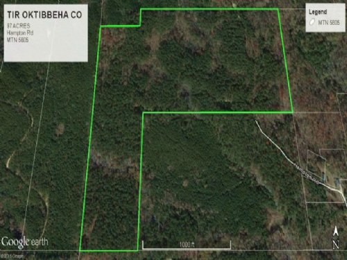 Hunting Recreational Land Sturgis, : Sturgis : Oktibbeha County : Mississippi