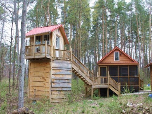 Cabin And Treehouse Well Septic : Altmar : Oswego County : New York
