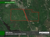495 Acres Van Buren Road : Milner : Lamar County : Georgia