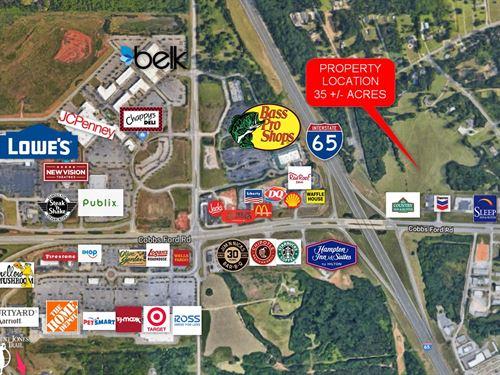 Cargile Property 35+/- Acres : Millbrook : Elmore County : Alabama