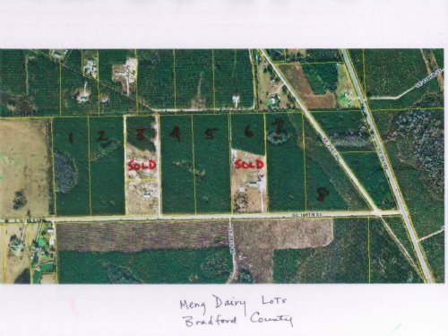 13.9 Acres-lot 2 Meng Dairy : Starke : Bradford County : Florida
