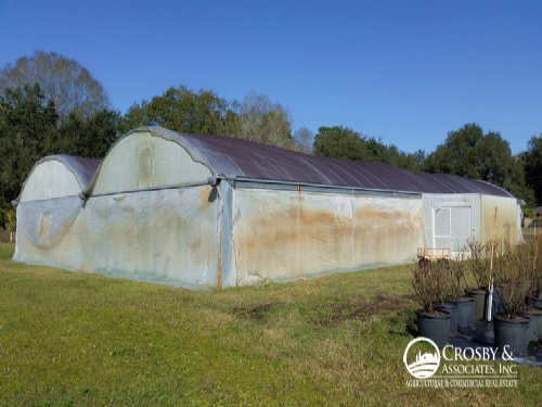 30,600Sf Greenhouse / Nursery : Auburndale : Polk County : Florida