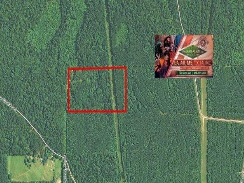 20 Ac - Cabin & Hunting/Recreat : Pollock : Grant Parish : Louisiana
