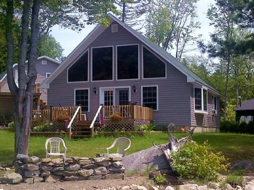 West Grand Lake Year Round Chalet : Grand Lake Stream : Washington County : Maine