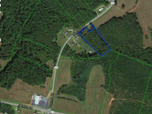 Wooded Lot W/ Homesite Potential : Gretna : Pittsylvania County : Virginia