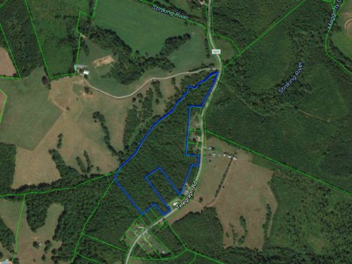 Nice Wooded Lot For Potential Home : Gretna : Pittsylvania County : Virginia