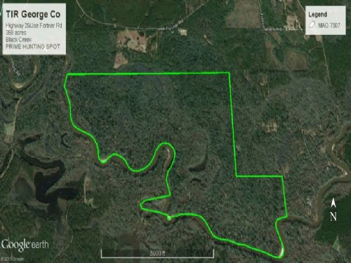 Hunting Recreational Land On Black : Wiggins : George County : Mississippi