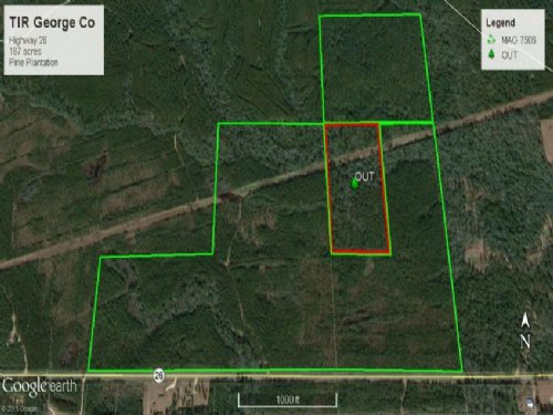 Timberland Development Investment P : Wiggins : George County : Mississippi