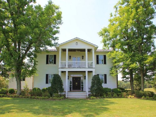 Luxurious Antebellum Home On 192ac : Keysville : Lunenburg County : Virginia