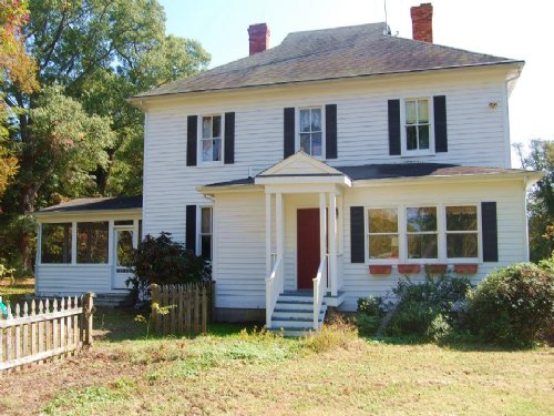Home & 40ac Near Rappahannock River : Center Cross : Essex County : Virginia