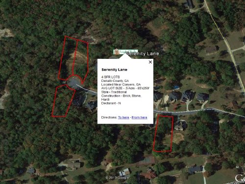 Serenity Lane : Lithonia : DeKalb County : Georgia