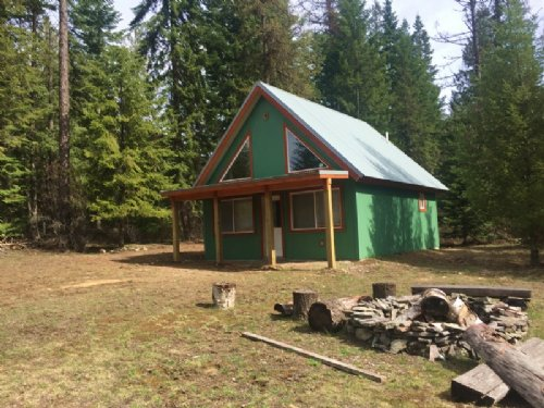 Cabinet Gorge Cabin : Noxon : Sanders County : Montana